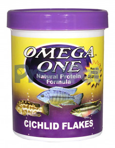 Natural Protein Formula Cichlid Flakes