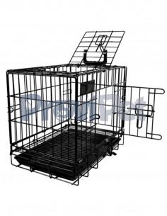 Jaula Transportadora Metalica Para Mascotas