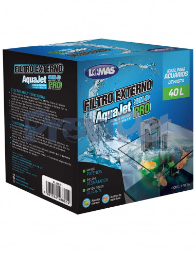 Filtro Externo AquaJet Slim Pro
